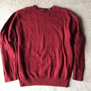 Arrow crewneck knit sweater